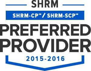 SHRM SEAL-Preferred Provider