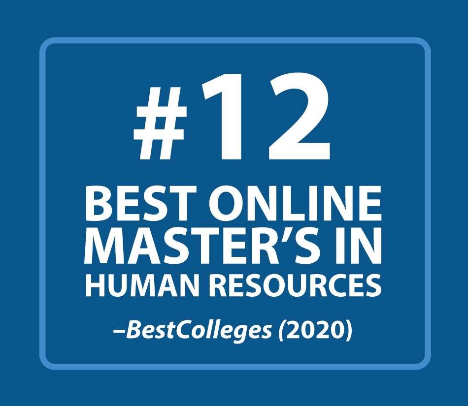 #12 Best Online Master's in Human Resources, BestColleges 2020